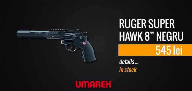 RUGER SUPER HAWK 8 BLACK